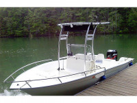 2002 Cape Horn Offshore 17' with SG300