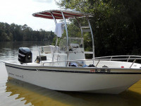 1997 Cape Horn 17' with SG300