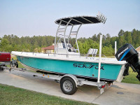 2002 Sea Fox Bayfisher with SG300