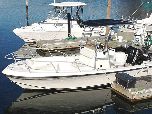 1998 Mako Center Console 191 with SG300 Review | Stryker T ...