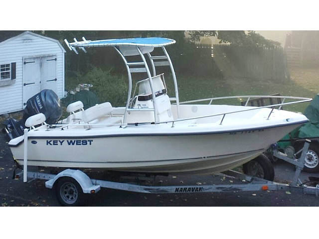 Nautic Star Boats >> 2005 Key West 186 CC with SG300 Review | Stryker T-tops, Universal Fishing T-tops for Center ...