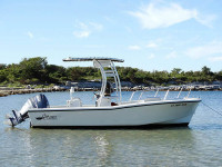 1990 Swan Point 19' Center Console with SG300