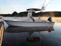 1998 C-Hawk Bay Boat 22' with SG300