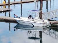 1988 Angler 21' Center Console with SG300