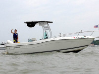 1998 Seaswirl Striper 21' with SG300