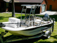 2013 Carolina Skiff DLV 178 with SG300