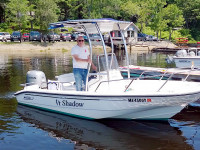 1999 Boston Whaler Dauntless 16 with SG300