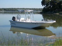 2007 Carolina Skiff 218 DLV with SG300