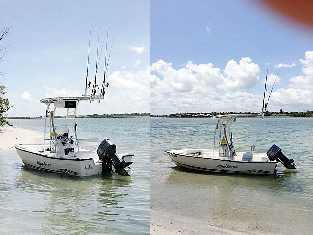 2004 Key Largo 160CC with SG300 Review | Stryker T-tops, Universal Fishing T-tops for Center ...