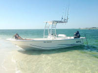 2012 Carolina Skiff 238DLV  with SG300