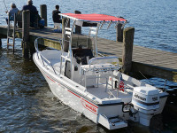 1997 Boston Whaler Outrage 17 with SG300
