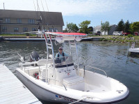 2001 Boston Whaler Dauntless with SG300