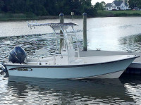 2009 Maycraft 1800 skiff with SG300