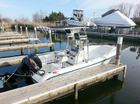 1995 Wahoo Center Console 18' with SG300