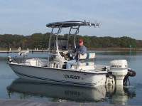1995 Quest Bay Boath with SG600