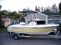 2008 Sea Hunt Ultra 186 with SG600