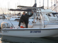 Boston Whaler 190 Outrage with SG600