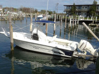 2002 Bombardier Fish Hawk 23' with SG600