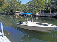 1976 Seacraft Open Fisherman with SG600