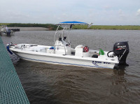 2014 Twin Vee Bay Cat 22' with SG600