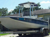 2001 Bay Stealth 22' with SG600