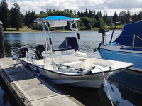 2007 Boston Whaler Montauk 190 with SG600