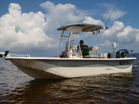 2014 Carolina Skiff 198 DLV with SG300