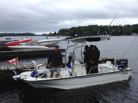 2004 Boston Whaler Montauk 170 with SG600