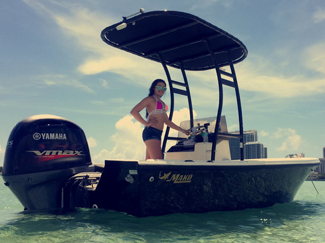 1987 Mako 171 with SG300 Review | Stryker T-Tops ...
