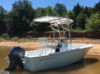 2016 Sportsman Island Reef 17' with SG600