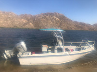 2005 Boston Whaler Outrage 20 with SG600