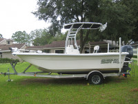 2008 Carolina Skiff 198 DLV with SG300