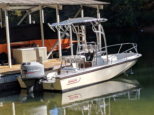 Boston Whaler T-Tops by Stryker | Photos & Reviews | Stryker T-tops