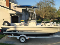 2008 Crestliner Fish Hawk with SG600
