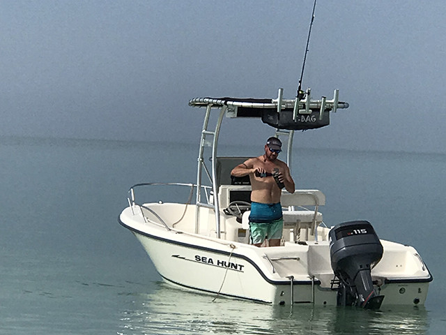 2003 Sea Hunt Triton 186 with SG300 Review | Stryker T-tops