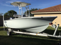 2017 Sportsman Island Reef 19' with SG300