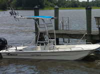 2016 Mako Pro Skiff 17 with SG300 T-Top