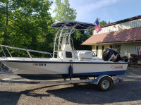 1994 Boston Whaler Outrage 19 with SG600 T-Top