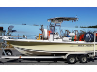 2007 Sea Hunt BRX 21 with SG300 T-Top