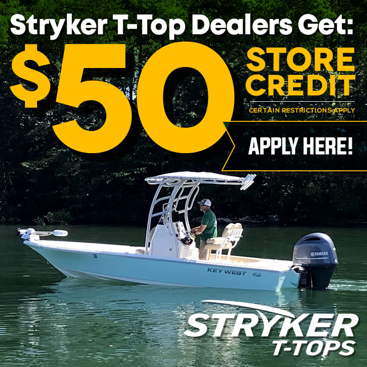 Learn more about becoming an Authorized Stryker T-Tops Dealer