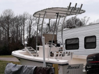 1997 Parker 18' SE Center Console with SG300 T-Top