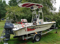 2005 Carolina Skiff Sea Chaser with SG300 T-Top