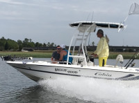 2003 Cobia 191 Bay with SG300 T-Top