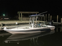 2005 Trophy 1703 with SG600 T-Top