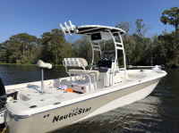 2017 Nautic Star 244 XTS with SG300 T-Top