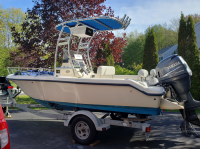 2004 KeyWest 186 with SG300 T-Top