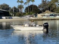 2006 Boston Whaler Montauk with SG600 T-Top