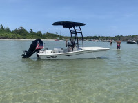 2020 Mako Pro Skiff 15 with SG300 T-Top