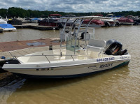 1993 Seaswirl Striper 182 with SG300 T-Top