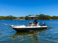 2016 Skeeter SX240 with SG600 T-Top